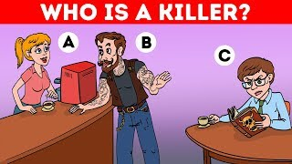 14 LOGIC RIDDLES AND CRIME BRAIN TEASERS WITH ANSWERS!