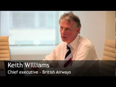 British Airways chief executive Keith Williams
