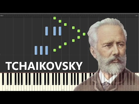 P. Tchaikovsky - Pas de Deux ( from The Nutcracker ). Piano (Synthesia)