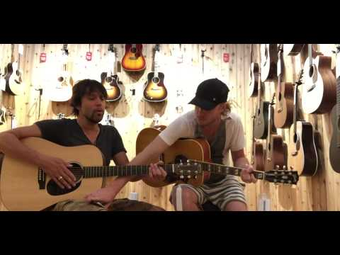 Sneaking into Guitar Center to play the Blues Part 2. Kenny Wayne Shepherd and Noah Hunt Thumbnail image