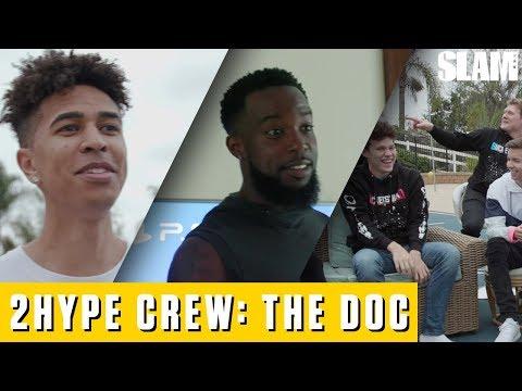 Meet 2HYPE: The YouTube Basketball Factory Ft. Jesser, CashNasty, Kristopher London   SLAM Originals