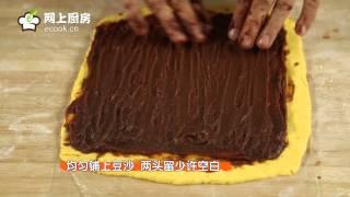 椰蓉南瓜豆沙糯米卷 菜谱做法 网上厨房ecook