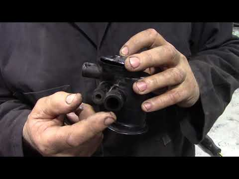 What's inside a Tdi engine breather / cyclone separator?