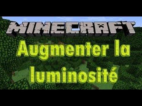 minecraft comment augmenter sa luminosit au maximum tuto voir dans la nuit youtube. Black Bedroom Furniture Sets. Home Design Ideas