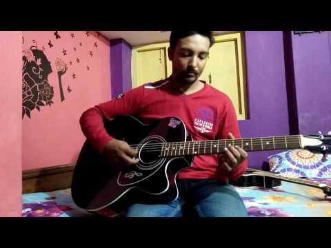 Dil Diya Hai Jaan Bhi Denge Aye Watan Tere Liye On Guitar From Movie KARMA