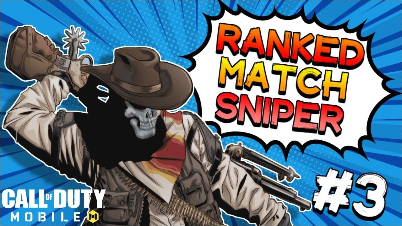 [COD MOBILE] Ranked Match Sniper !!! #3