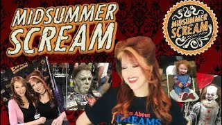 Midsummer Scream Horror Halloween Convention And Haul 2018 Elvira Stuff And More
