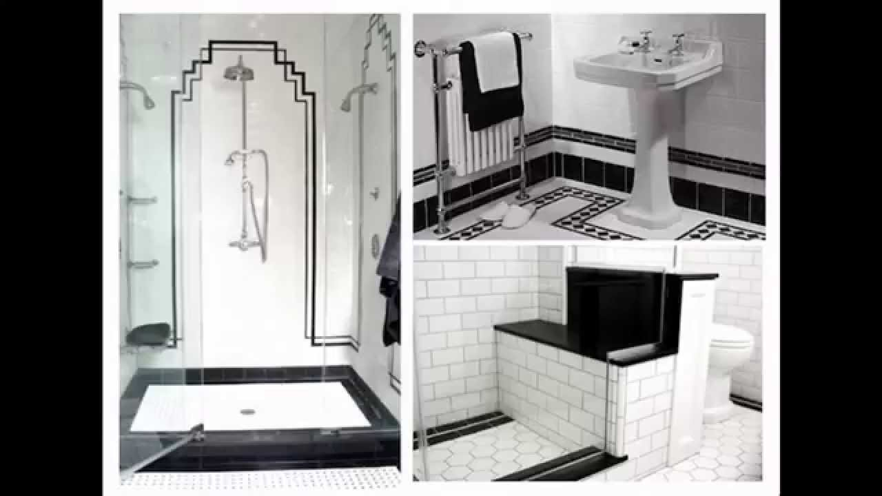 Art deco bathroom ideas - Home Art Design Decorations - YouTube