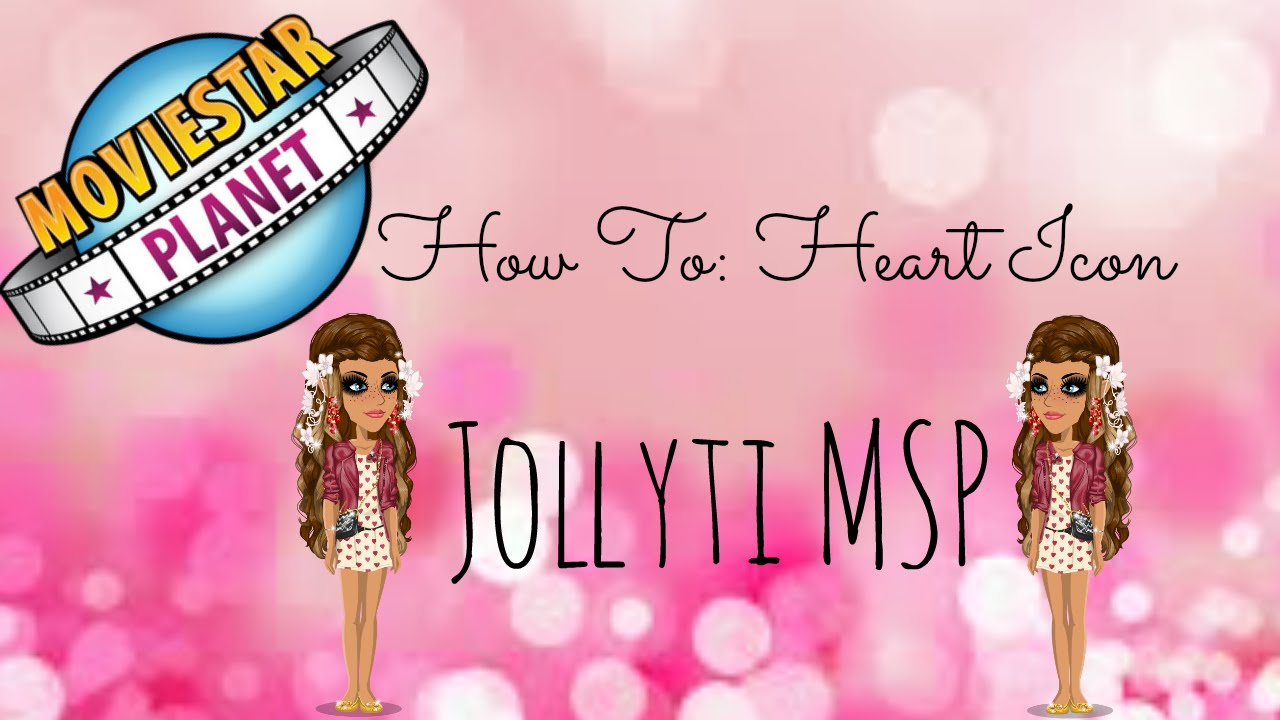 how to make hearts on msp