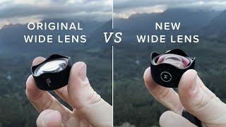 Moment Vlog: Original Wide Lens VS New Wide Lens