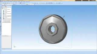 Компас 3D Уроки -Как изменить точность отрисовки (качество 3D модели)