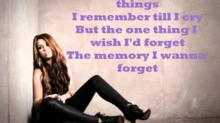 Miley Cyrus Goodbye Lyrics