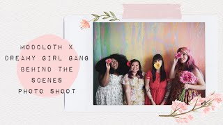 ModCloth Girl Gang Behind The Scenes Photo Shoot