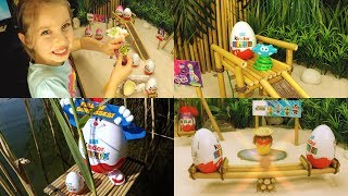 Kinder Surprise Eggs - Full of Surprises. Special Edition! Mix Toys and Music Dance.