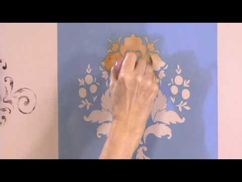 Rulli decorativi crilla su parete doovi - Tiralinee parete ...