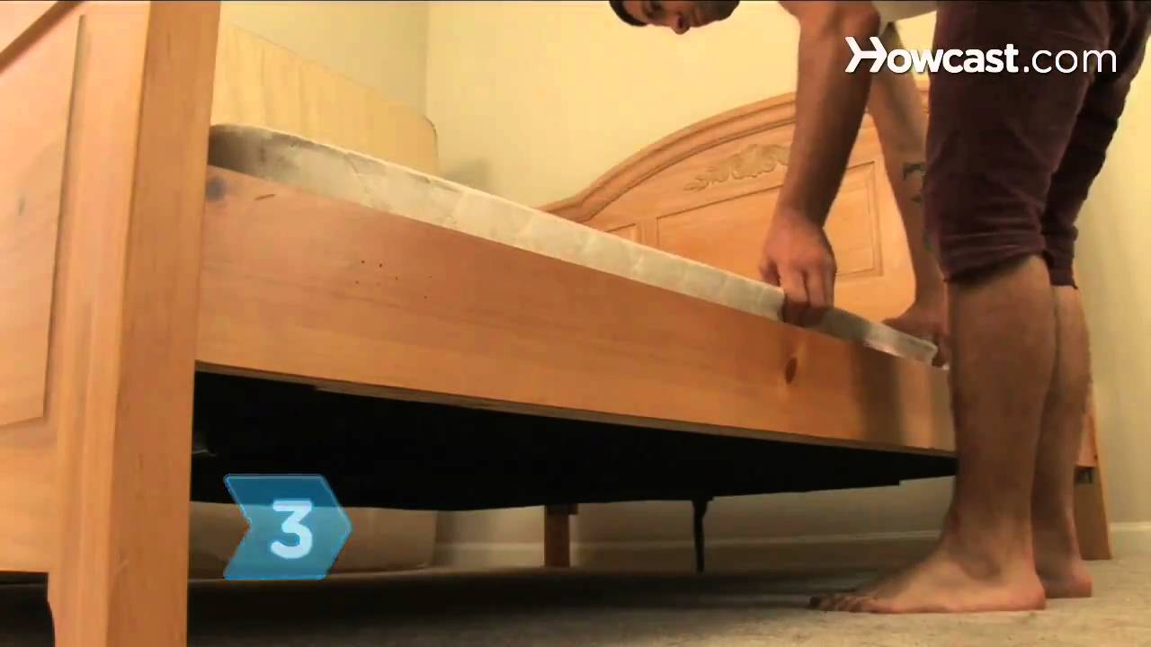 How To Stop A Box Spring From Squeaking Youtube