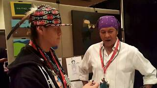 Indigenous Comic Con 2017 - Isleta Resort & Casino | Ricardo Cate Cartoonist