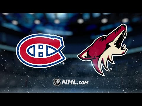 Perlini, Keller pace Coyotes by Canadiens, 5-2