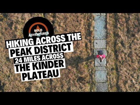 Hiking 24 Miles In The Peak District