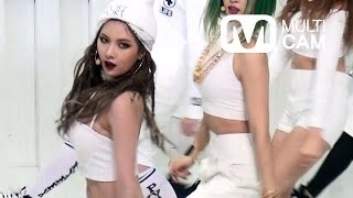 4minute Crazy HyunA Focus Fancam @Mnet MCOUNTDOWN Rehearsal_Feb/12/...