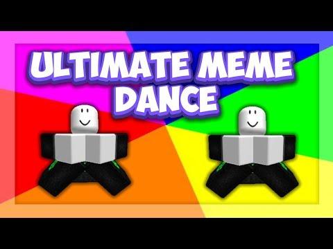 Roblox Script Showcase Episode 1028 Ultimate Meme Dance Youtube