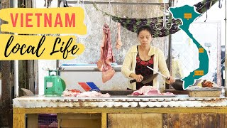 Vietnam: Butcher single shot of local life