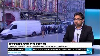 France 24 FR: Ahmadiyya Muslim Asif Arif talks about Islamophobia after Paris Attacks