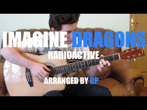 Imagine Dragons - Radioactive (fingerstyle guitar cover by Peter Gergely) [WITH TABS]