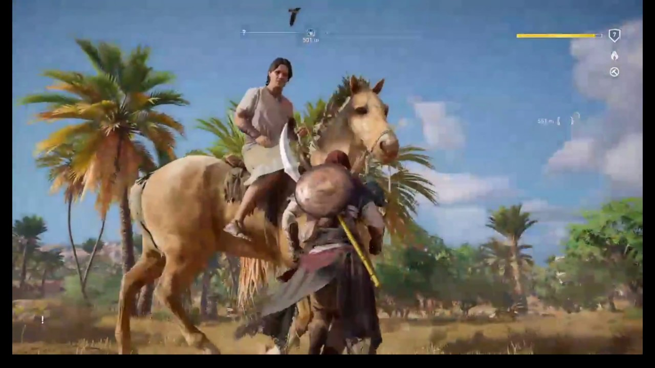Assassin S Creed Origins Ps4 Gameplay Youtube