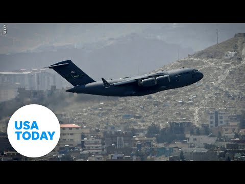 Last U.S. military plane leaves Afghanistan | USA TODAY