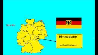 Весёлый урок немецкого языка. Самые смешные названия населенных пунктов в Германии.