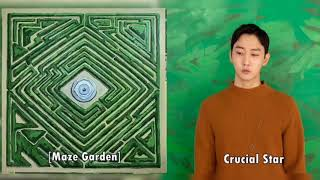 [album] maze garden - 크루셜스타(crucial star) release date : 2018.12.11 tracklist chapter 1. doubt 01. 동전 한 닢 (intro) 02. fontana di trevi 03. direct message (...