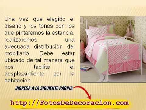 Dormitorios para ni as decoraci n de dormitorios - Dormitorios juveniles de nina ...