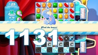 Candy Crush Soda Saga Level 1131 (3 stars, No boosters)