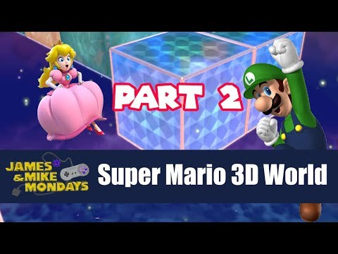 Super Mario 3D World - Champion's Road (Wii U) James & Mike Mondays