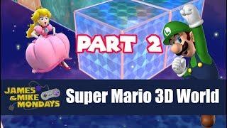 Super Mario 3D World - Champion's Road (Wii U) James & Mike Mondays