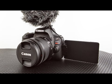 Great DSLR For 1080p Video   Canon EOS Rebel SL2 200D Review