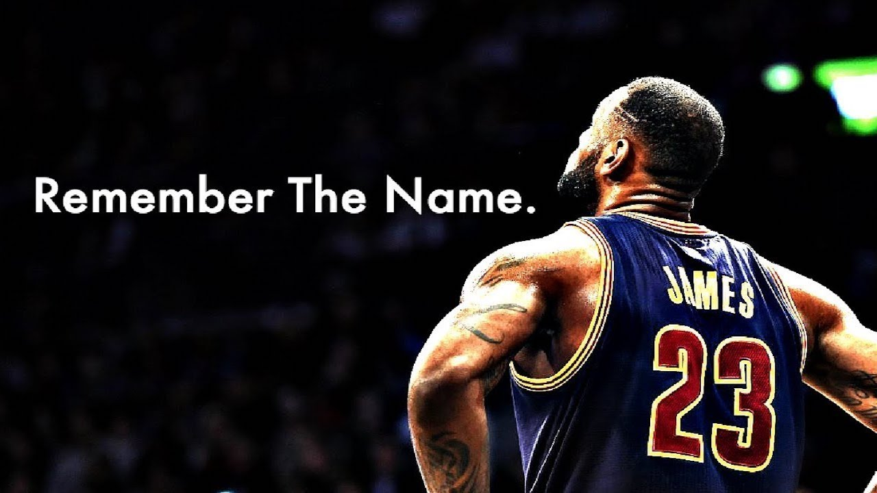 LeBron James NBA Mix 2016 HD | 'Remember The Name' - YouTube