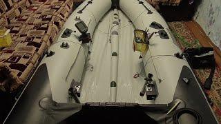 Не большой тюнинг для лодки ПВХ.(, 2015-11-22T00:01:53.000Z)