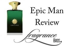Amouage Epic Man Review! Silk Road Woes(Buy here: http://amzn.to/1tIo0Gj Fragrance Bros merch: http://fragrancebros.spreadshirt.com/ Buy cool t-shirts: http://tinyurl.com/nkh4w7a Buy cool stuff on ..., 2013-09-01T14:21:55.000Z)