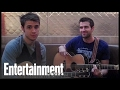 Kris Allen 'Alright With Me' Acoustic Performance | Entertainment Weekly