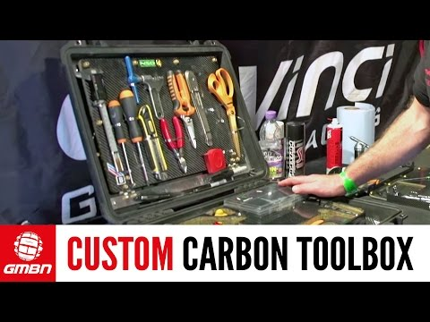 Custom Carbon Fiber Toolbox Tour | Pro Downhill Mechanics