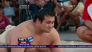 Pertandingan Sumo di bali, Datangkan 2 Pesumo Dari Jepang - NET24