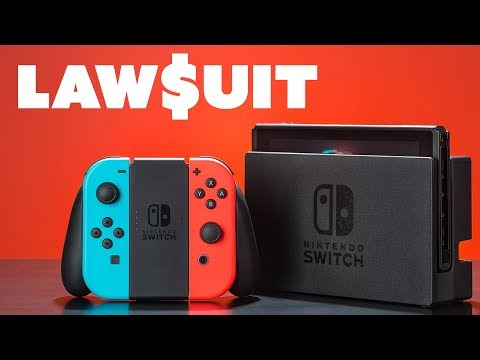 Nintendo Switch LAWSUIT to Stop Sales!? - The Know Game News