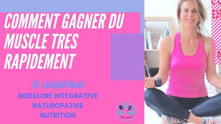 COMMENT GAGNER DU MUSCLE RAPIDEMENT ( NO DUMPING EXERCICE ) - Dr Denef