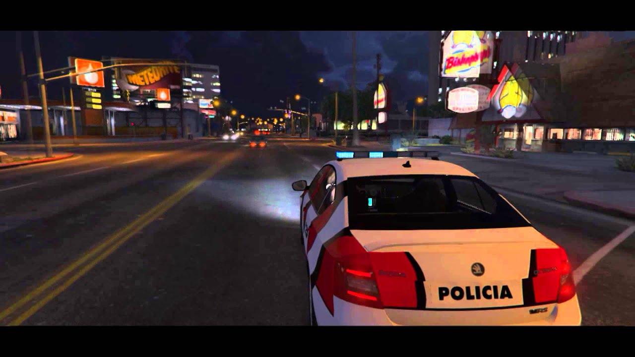Policía De Córdoba Argentina Gta V Youtube