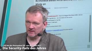 #heiseshowXXL: Die Security-Fails des Jahres