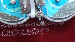 Automatic 2 Colour Rhinestone Hotfix Setting Machine Thumbnail