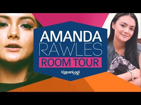 Bongkar Isi Kamar Amanda Rawles, Penuh Make-up!