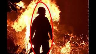 firefighters battle California wildfire    Deadly California wildfire forces thousands to flee